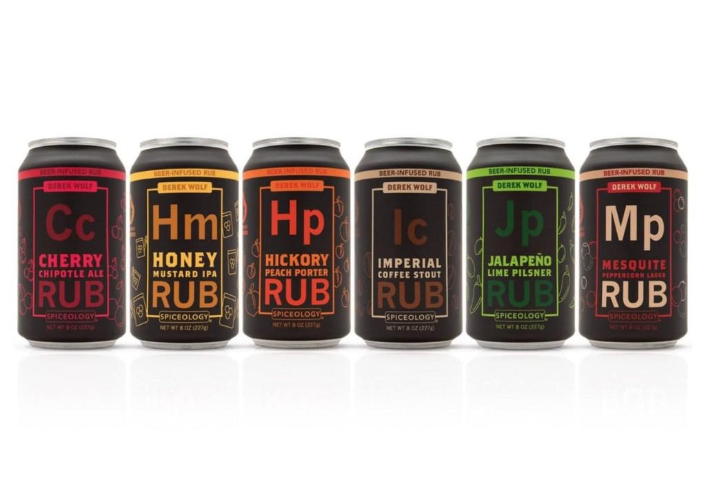 BBQ rubs sampler beer rub Spiceology