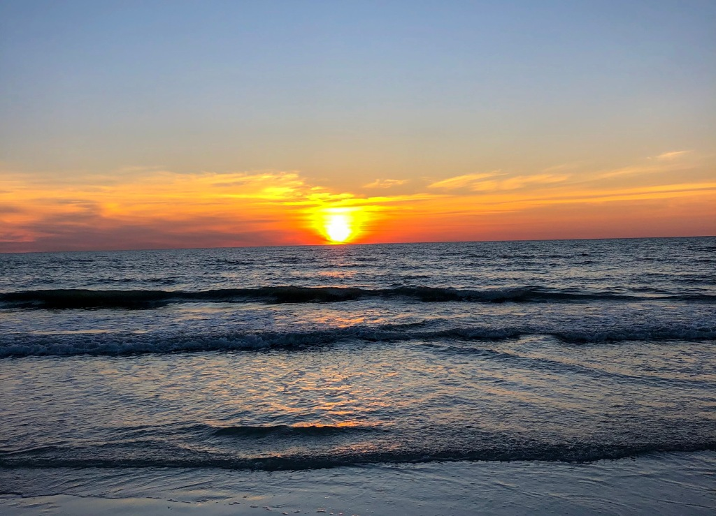 best beaches Dr. Beach 2021 Florida sunset