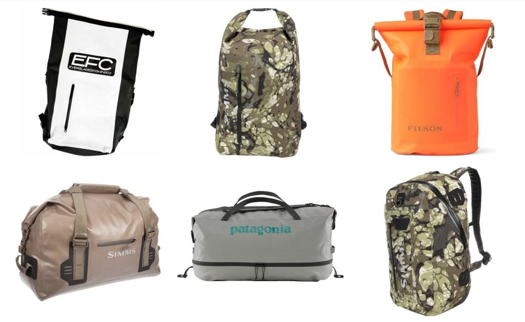 best waterproof bags for every fishing trip