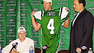 Brett Favre Agreed To Sign With The Jets In 2012 Thanks In Part To Google Satellite Images And A Pair Of Camo Pants