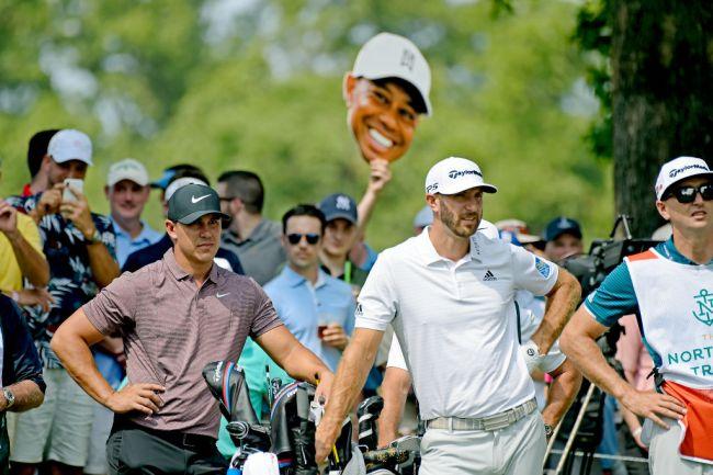 premier golf league brooks koepka dustin johnson
