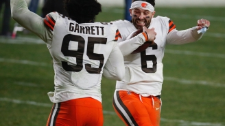 Browns Fans Despise Rumors Of An Aaron Rodgers Trade And (Rightfully) Believe In The Legend, Baker Mayfield