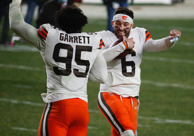 Cleveland Browns fans defend Baker Mayfield as team's QB despite ESPN article suggesting a trade for Aaron Rodgers