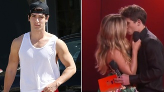Tiktok Star Bryce Hall Reacts To His Ex-Girlfriend Addison Rae Making Out With Co-Star Tanner Buchanan At MTV Movie & TV Awards