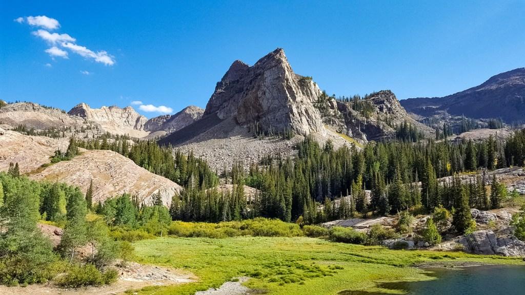 Certain Death trail Little Cottonwood Canyon Salt Lake City Utah hiking trail