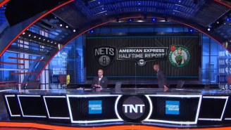 A Disgusted Shaq Walked Off The Set When Charles Barkley Said James Harden Is The Best One-On-One Player He's Ever Seen