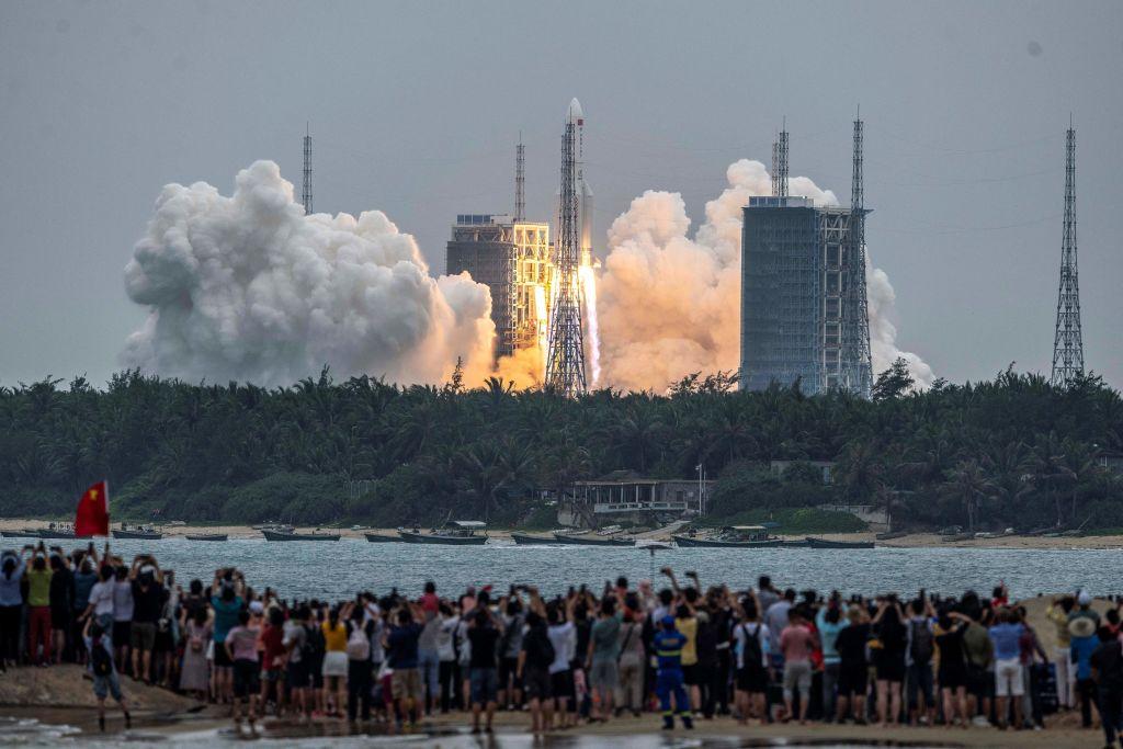 China Long March 5B rocket to crash land on earth