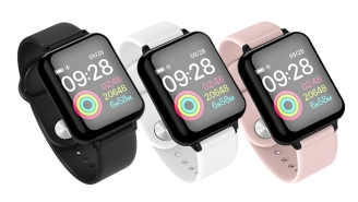Hit Your Health Goals In Style With This Sleek $40 Smartwatch