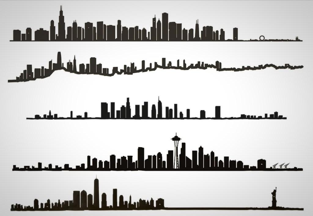 City Skylines wall art The Line