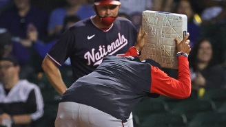 Nats Manager Dave Martinez Chucked First Base After Getting Ejected In The Most Entertaining MLB Meltdown In Years