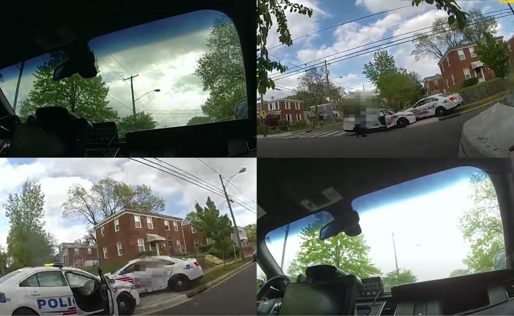 DC Police drag racing body camera footage