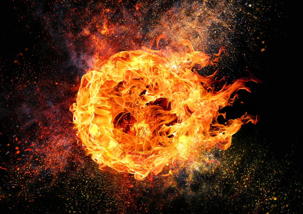 diesel truck explodes dynoing fireball