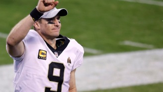 Drew Brees Admits He Purposely Trolled Everyone With Viral Workout Video Prior To Announcing His Retirement