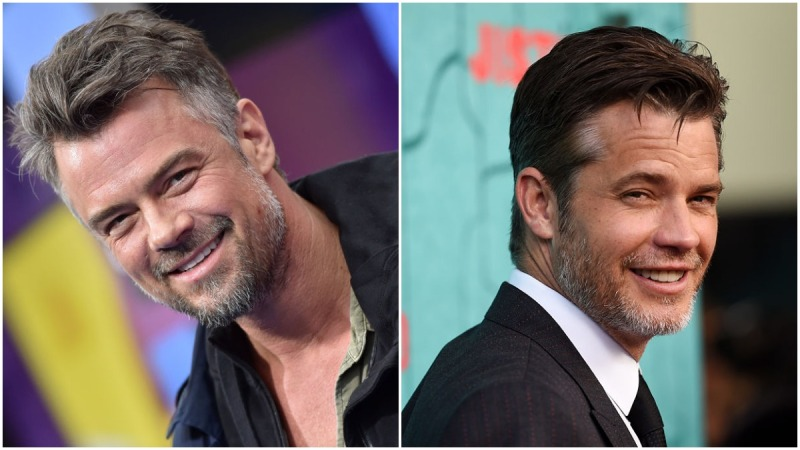 Timothy Olyphant Once Put Josh Duhamel In His Own Christmas Card, Because Even They Can't Tell Each Other Apart