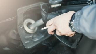 Cigarette-Smoking Hummer Owner Hoarding Gas Tanks During Crisis Took Ben Harper's 'Burn One Down' Way Too Literally