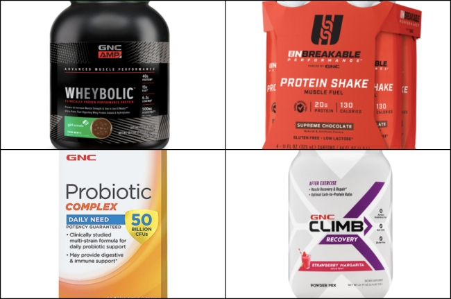 GNC Recovery products