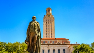 UT-Austin Student Employees Are On Strike After Man Brandishes Gun On Virtual Event To Discuss 'Eyes Of Texas' Song