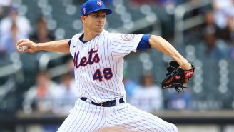 Jacob deGrom Pitches In The Minor Leagues, Spurs Hilariously Helpless Tweets From Team's Official Twitter Account