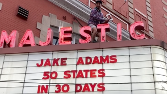 Comedian And Golfer Jake Adams Completes Challenge Of Hitting A Golf Ball In All 50 States In 30 Days