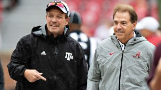 Jimbo Fisher Pokes The Bear, Says Texas A&M Is Going To Beat Nick Saban's Ass