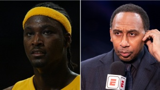 Kwame Brown Challenges ESPN's Stephen A. Smith To A Fight For Talking Trash About Him