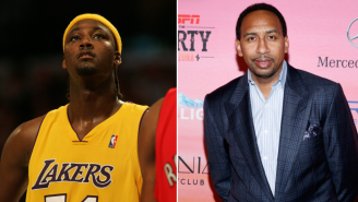 Stephen A. Smith Won't Talk Or Joke About Kwame Brown After Brown Challenged Him To A Fight