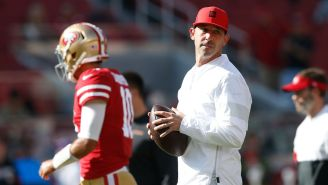 Group Of 49ers Players Troll Kyle Shanahan, Let Him Know They Were Still Alive On Sunday