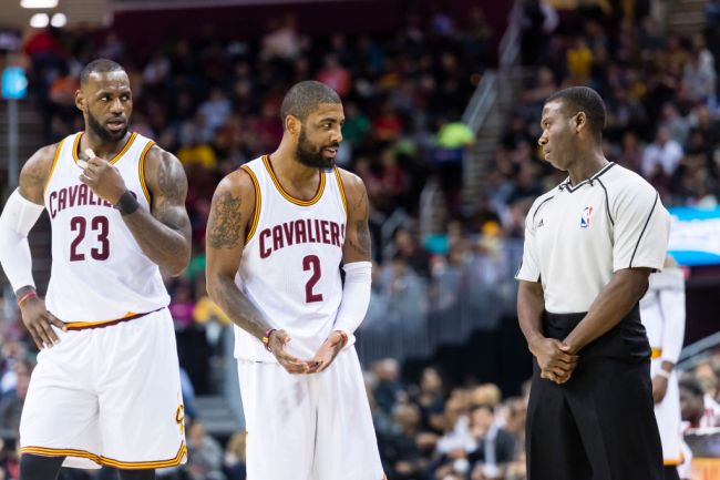 lebron james kyrie irving tension