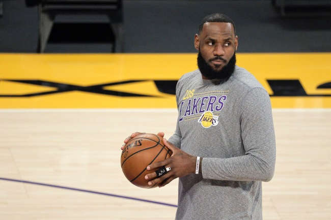 Despite LeBron James, the Los Angeles Lakers' chances of repeating as NBA champs are less than the odds they lose the play-in game