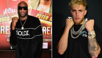 Lamar Odom Wants To Fight Jake Paul But After Seeing Odom's Latest Training Video That's Probably Not A Good Idea