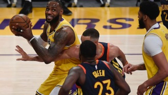 Trash-Talk From A Couple Warriors' Bench Players Triggered LeBron James To Take Over Play-In Game
