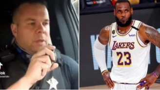 Over $530k Has Been Raised For Police Officer Who Mocked LeBron James In TiKTok Video And Got Fired