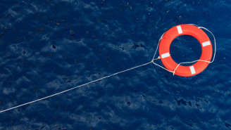 Can You Believe Two Guys On A Boat Made Of Kiddie Pools And Plastic Buckets Had To be Rescued At Sea?