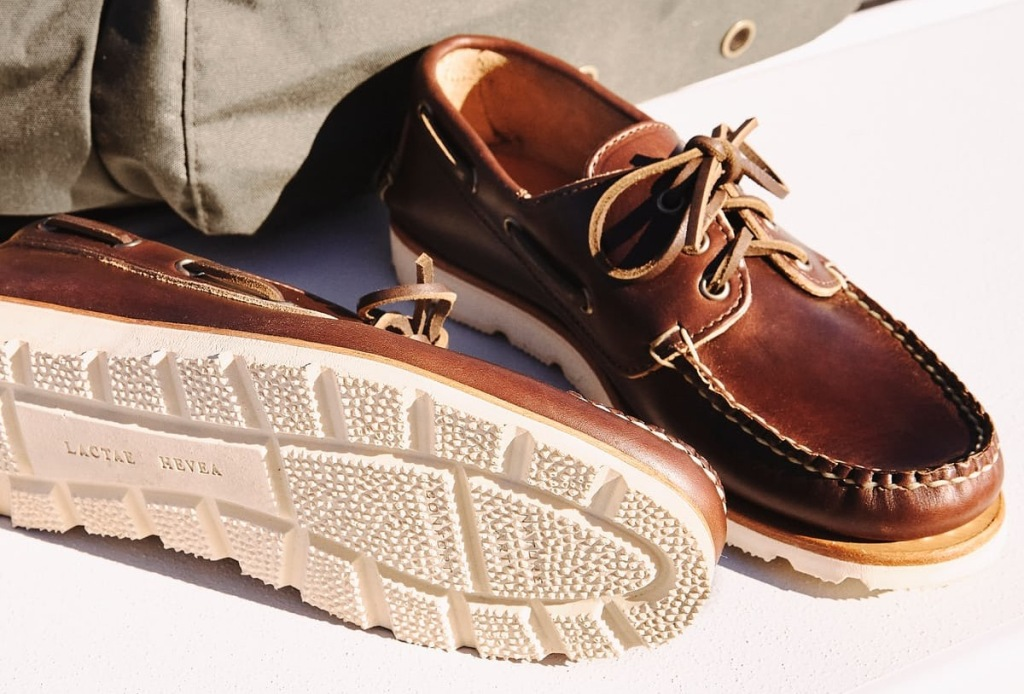 Rancourt Co Boat Shoes handcrafted Maine David Coggins