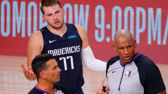 It's Only Taken 15 Technical Fouls For Luka Doncic To Realize He Whines Too Much