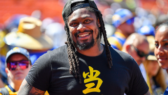 Marshawn Lynch's Plan For Welcoming Aliens To Earth Proves We Need To Make Him Humanity's Intergalactic Ambassador