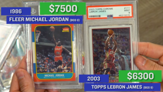Michael Jordan vs. LeBron James? Breaking Down Which Rookie Trading Card Is The G.O.A.T.