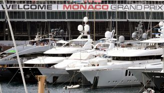 Feast Your Eyes On Faith, The $200 Million Superyacht That Was The Largest Boat At The Monaco Grand Prix