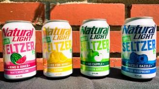 Natty Light Introduces Natty Light Sour Seltzer, With Four Distinct Flavors