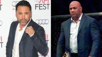 An Angry Oscar De La Hoya Challenges Dana White To A Fight After White Blocked A Superfight Between Him And Georges St. Pierre