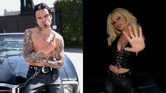 Sebastian Stan And Lily James Look INCREDIBLE As Tommy Lee And Pamela Anderson In First-Look Photos