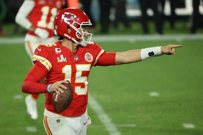 Kansas City Chiefs star Patrick Mahomes supports the idea of putting chips in footballs to help NFL refs make the right calls
