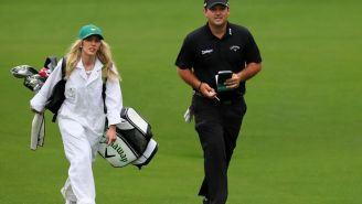 The Story Of Patrick Reed Meeting His Wife Justine Starts With Him Getting Ghosted By Her Sister