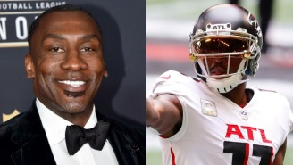 Shannon Sharpe's Shady On-Air Call To Julio Jones Has Created A Nightmare For FOX And Could Have Legal Ramifications