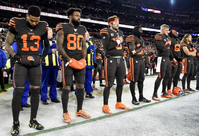 Some sports gambler placed a $700 bet on the Cleveland Browns to finish with the NFL's worst record during the 2021 NFL season