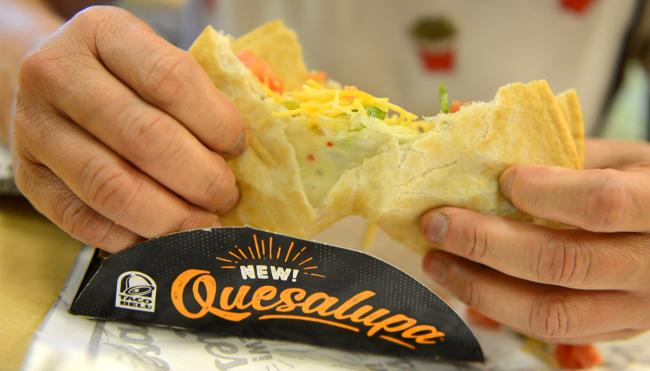 Taco Bell discontinuing quesalupa