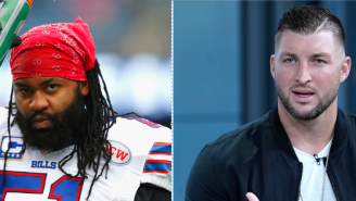 Former NFL Player Brandon Spikes Defends Tim Tebow Says People Need To 'Stop Pulling Race Bullsh–' About Jags Signing Him