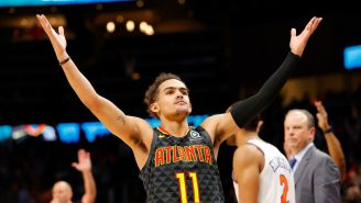 Knicks May Want To Consider Letting Birds Inside Madison Square Garden To Slow Down Trae Young