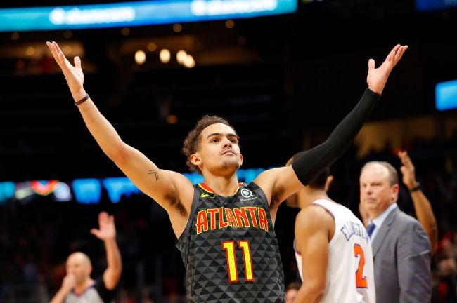 trae young scared of birds