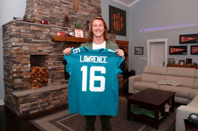 trevor lawrence voicemail